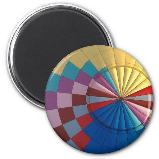 Envelope hot air balloon magnet