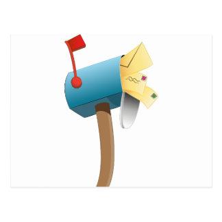 Envelope Letter Stuffed Mailbox Postcard