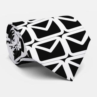 Envelope Plains Pictograph Tie