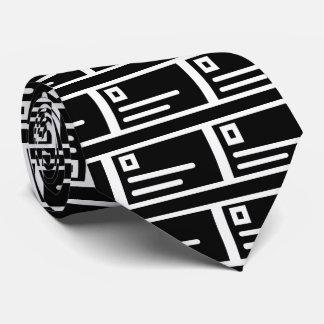 Envelope Titles Pictogram Tie