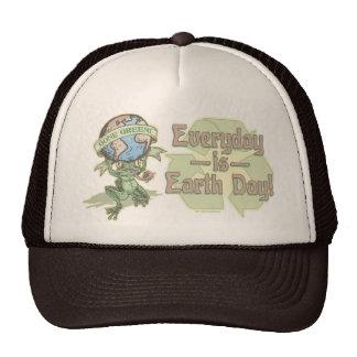 Enviro Frog Gone Green Earthday Gear Mesh Hats
