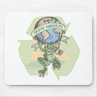 Enviro Frog Gone Green Earthday Gear Mouse Mat