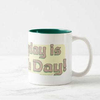Enviro Frog Gone Green Earthday Gear Coffee Mugs