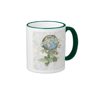 Enviro Frog Gone Green Earthday Gear Mugs