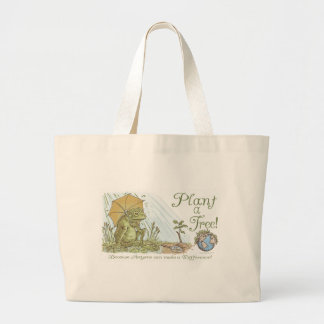 Enviro Frog Plant a Tree  Earth Day Gear Bag