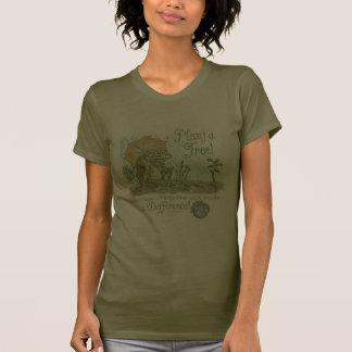 Enviro Frog Plant a Tree  Earth Day Gear Tshirt