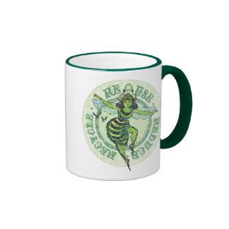 Enviro Green Bee Earth Day Gear Mugs
