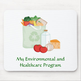 Environment and Healthcare Mousepad