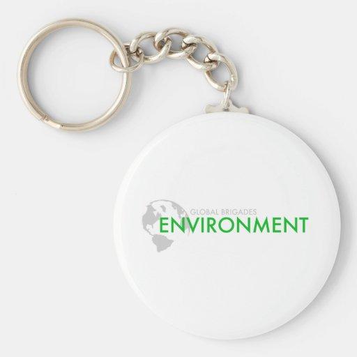Environment Brigade Keychains