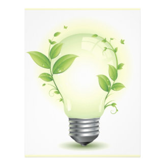 Environment Lightbulb3 Personalized Flyer