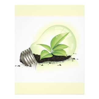 Environment Lightbulb greens plants soil causes en Flyer