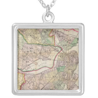 Environment of Boston Silver Plated Necklace