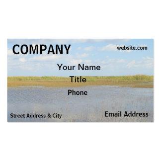 Environment Wetlands landscape Business Card