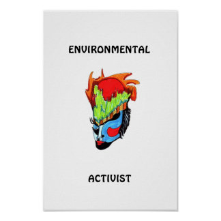 ENVIRONMENTAL ACTIVIST POSTERS