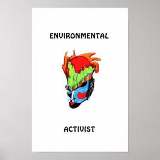 ENVIRONMENTAL ACTIVIST POSTERS