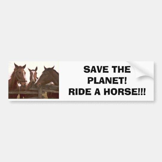 Environmental Alternative Bumper Sticker