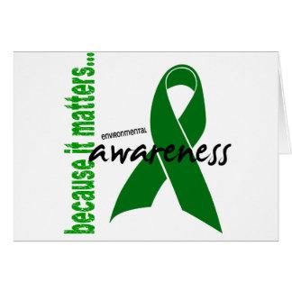 Environmental Awareness Card