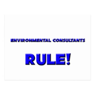 Environmental Consultants Rule! Postcard