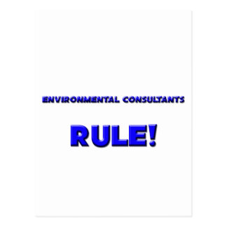Environmental Consultants Rule! Postcards