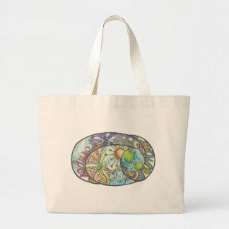 Environmental Design Large Tote Bag