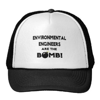 Environmental Engineers Are The Bomb! Hats