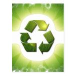 Environmental Issues Postcard