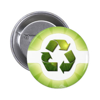 Environmental Issues Round Button