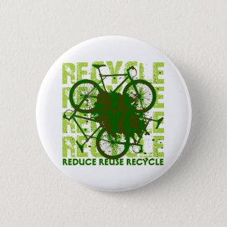 Environmental reCYCLE 6 Cm Round Badge