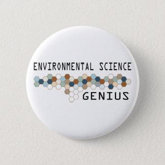 Environmental Science Genius 6 Cm Round Badge