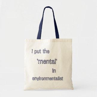 Environmentalist Bag- Blue