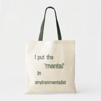 Environmentalist Bag- Green