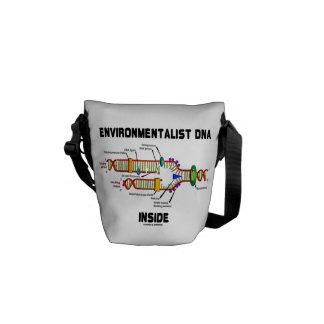 Environmentalist DNA Inside (DNA Replication) Messenger Bags