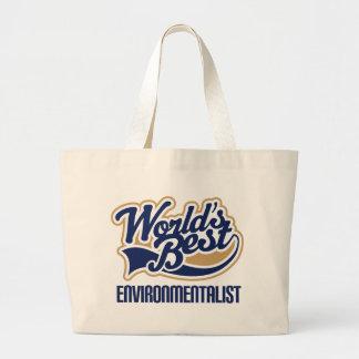 Environmentalist Gift Jumbo Tote Bag