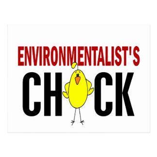 Environmentalist's Chick Postcard