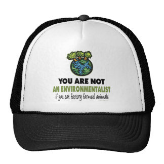 Environmentalist = Vegan, Vegetarian Cap