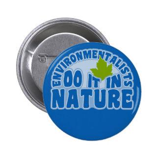 Environmentalists button