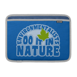 Environmentalists custom iPad / laptop sleeve