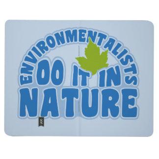 Environmentalists custom pocket journal