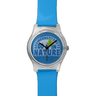 Environmentalists custom watches