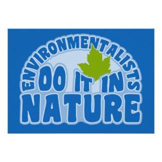 Environmentalists invitation, customize