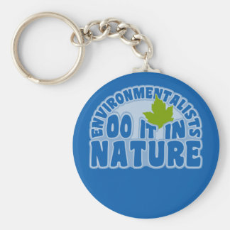Environmentalists key chain