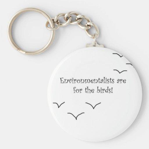 environmentalists key chain