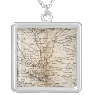 Environs d'Angouleme Silver Plated Necklace