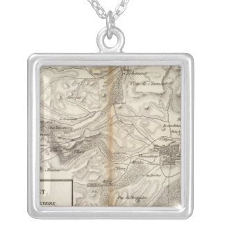Environs de Clermont Silver Plated Necklace