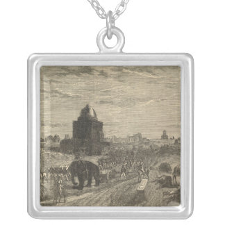 Environs of Delhi, 1857 Silver Plated Necklace