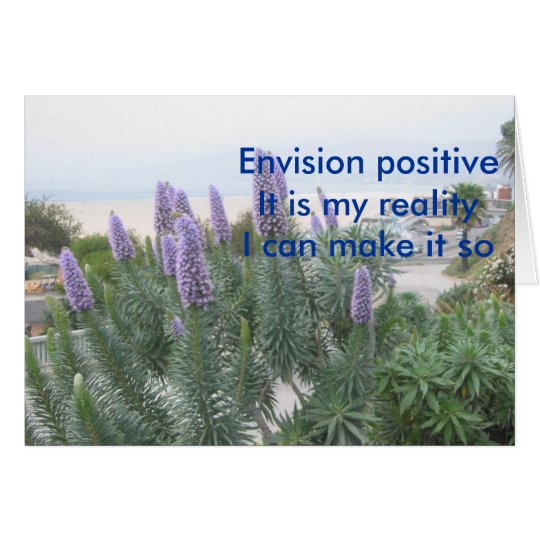 Envision Positive Card