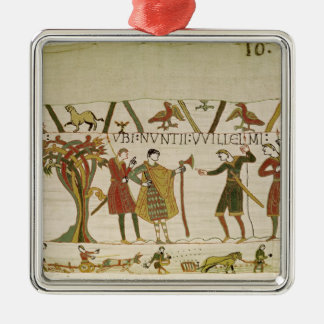 Envoys from Duke William are Sent to Count Guy Christmas Ornament