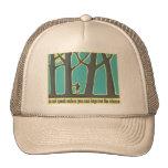 Envrionmental Quote Mesh Hats