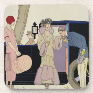 Envy, 1914 (pochoir print) coaster