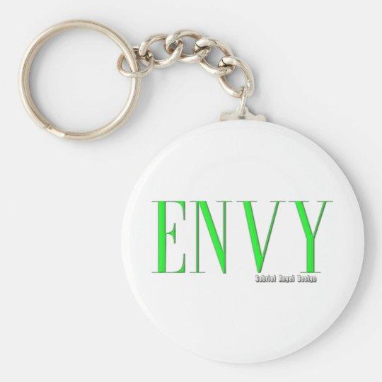 Envy Logo Basic Round Button Key Ring
